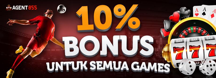 BONUS SETIAP DEPOSIT 10%
